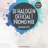 Dj Halogen Official !!! PROMO MIX JANUAR 2017 !!!