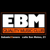 EBM Quality Music Club Session - Duo Set Tito Cabrera & Javier Busto  - Sala San Mateo 21