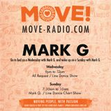 Wednesday's all request line dance show with Mark G on Move radio