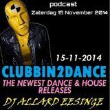 Allard Eesinge - Clubbin2Dance (15-11-2014)