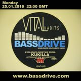 Kukilla - Guest mix for The Vital Habits Show on Bassdrive Radio