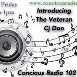 CJ DON ON CONCIOUS RADIO 24.01.2014