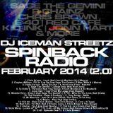 DJ Iceman Streetz - Spinback Radio - 02/19/2014