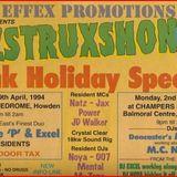 DIZSTRUXSHON (Scarborough Champers) -DJ Noya & JD Walker, Mzone & JD Walker 02-05-1994