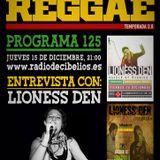 PROGRAMA 125 - ENTREVISTA LIONESS DEN (15-12-2015)