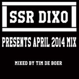 DIXOCOMISSIE April mix mixed by Tim de Boer