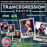 Willy T pt.2 on Trancegression 415 Kiss Fm Dance Music Australia 02/02/17