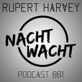 Nachtwacht podcast 001 - Rupert Harvey