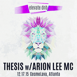 Elevate Live: Thesis 12.17.15