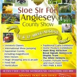 Mr William Williams, Anglesey Show's Director on the Anglesey Life programme with Sharon & Wyn.