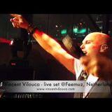 Vocal DJ Vincent Vilouca - live set @Feemuz Delft including amazing vocals