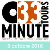 33 TOURS MINUTE - Le meilleur de la musique indé - 05 octobre 2016