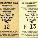 Leicester-DeMontfortHall 25 Febbraio 1973