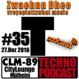 CLM-89 Techno PODCAST #35 (27.Dez 2016)