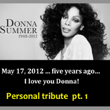 DONNA SUMMER - PERSONAL TRIBUTE- PT 1 - re-edit
