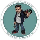 45 Live Radio Show pt. 38 with guest DJ MONK ONE