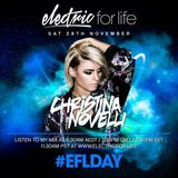 Christina Novelli – Electric For Life Day 2015 (27-11-2015)