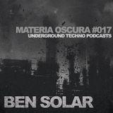 Materia Oscura #17 - Underground Techno Podcasts