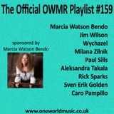 Playlist #159 Sponsored by Marcia Watson Bendo