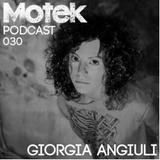 Motek Podcasts 030 - Giorgia Angiuli