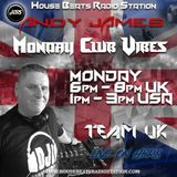 Monday Club Vibes Show (Team UK) - House Beats Radio Station 15-10-2018