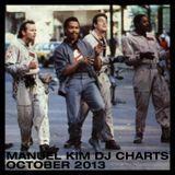 Manuel Kim DJ Charts October 2013
