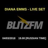 Diana Emms - BLITZFM Podcast #08 [live]