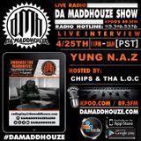 Yung N.A.Z makes a return to Da Maddhouze on K.P.O.O. 89.5 FM