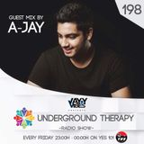 Underground Therapy - #198 Guest Mix by A-Jay [28.06.2017]