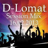 D-Lomat - Session Mix 16.02.2013