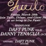"Daft Punk DJ set at ""Homework US Release Party"" @ Twilo (New York - USA) - 28 March 1997"