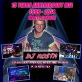 WHITE CORNER CLUB  ( 1999 - 2014 ) - BEST OF MEGAMIX BY DJ KOSTA