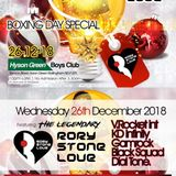 BOXING DAY SPECIAL - 26-12-18 - RORY STONELOVE, V. ROCKET & FRIENDS. - NOTTINGHAM PART 2