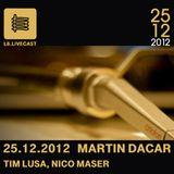 25.12.12 Martin Dacar, Tim Lusa & Nico Maser