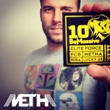Metha live Be Massive10th Birthday part 1 / 2013