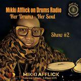"""Mikki Afflick live on """"Drums Radio"""" March 9, 2019"""