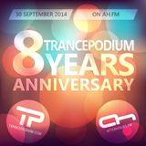 Orkidea @ TrancePodium 8th Anniversary Celebration on AH.fm (30-09-2014)