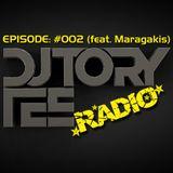 DJ TORY TEE RADIO - EPISODE #002 - GUEST DJ - MARAGAKIS