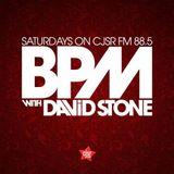 BPM with David Stone on CJSR 88.5 FM - August 25, 2018