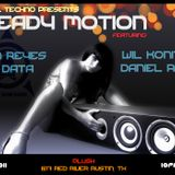 Steady Motion (001) Part 2 LIVE @ PLUSH ATX w/ Data Mekanix (7/7/11)