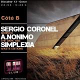 2018.01.13 Côté B (sergio coronel + Simplexia + A.Nonimo)