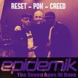 PAUL DA KUTT , MC RESET FEAT MC CREED - EPIDEMIK RADIO SHOW ON LIFEFM.TV