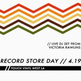 Record Store Day 2014 - Live Set at Touch Vinyl