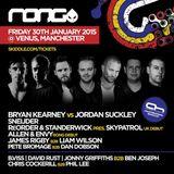 Bryan Kearney & Jordan Suckley – Live @ RONG, Venus Manchester, UK – 30-JAN-2015