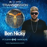 Ben Nicky - Transmission Bangkok 2018 (Free) → https://www.facebook.com/lovetrancemusicforever