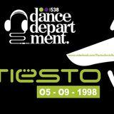 Dj Tiësto Live At Dancedepartment 05-09-1998