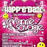 Happedaze, TripleXL, Happedaze Valentines Party 2017