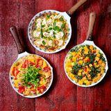 Spring Veg Frittata - Sainsbury's Magazine Recipe GORGEOUS COOKING with Josephine & Donna