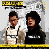 Surya Molan MorningZone TraxFMJKT 2 November 2016