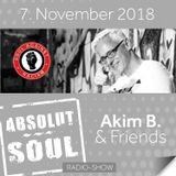 Absolut Soul Show /// 7.11.18 on SOULPOWERfm